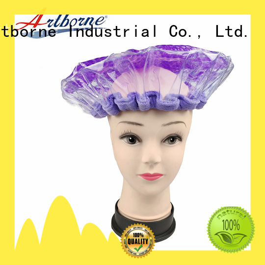 Artborne latest washable shower cap supply for hair