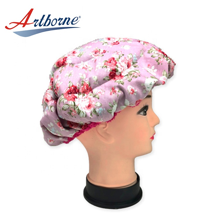 Artborne drying thermal hot head deep conditioning cap company for shower-2