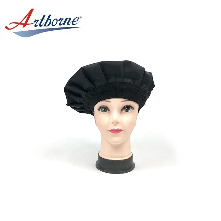 microwave heated heat Gel Thermal condition steaming hair care mask cap bonnet