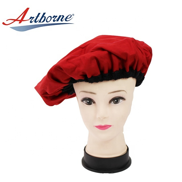 Natural flaxseed linseed microwavable heat hot steaming steam salon hair mask cap bonnet