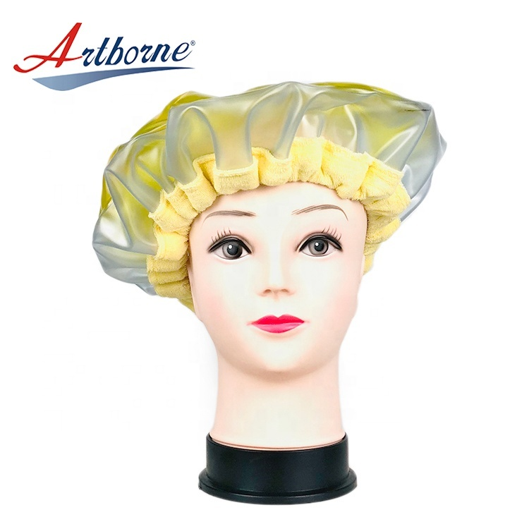 cordless click instant heat Thermal condition steaming hair care mask cap bonnet