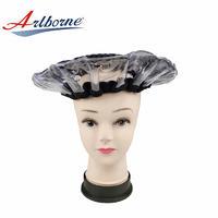 cordless pearlie gel bead microwave heat hot steaming steam hair mask cap bonnet