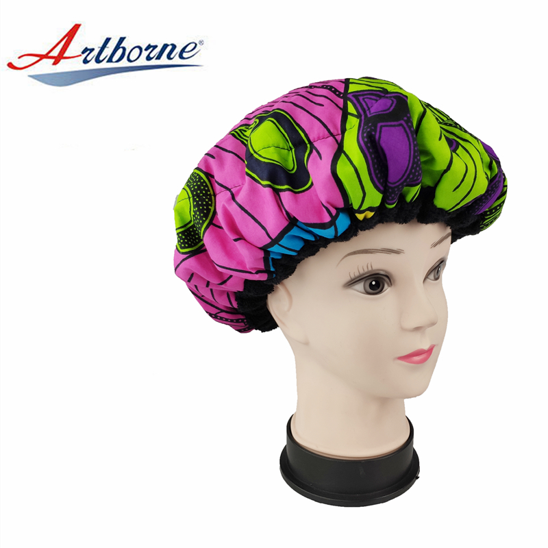 Artborne bonnet microwavable heat cap factory for hair-2