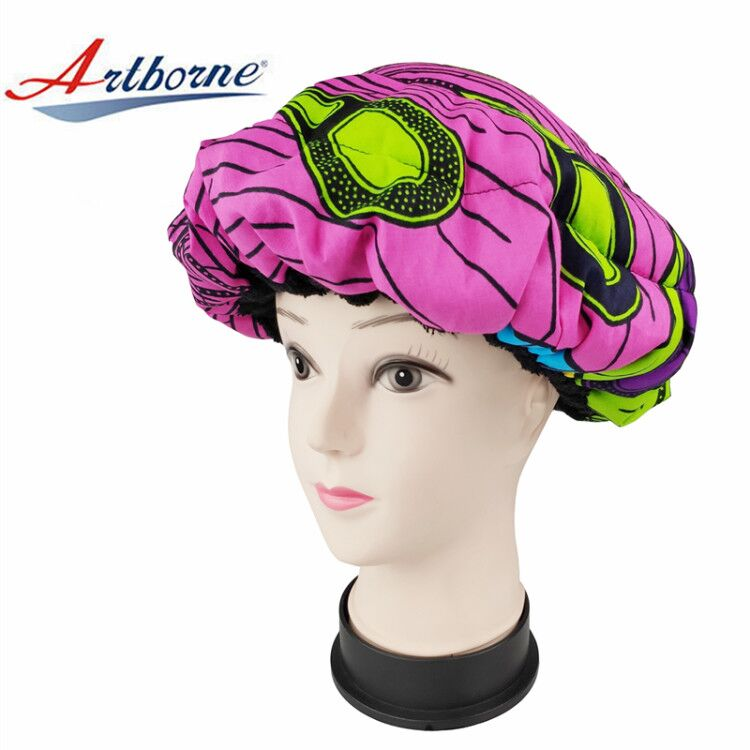 Artborne bonnet microwavable heat cap factory for hair-1