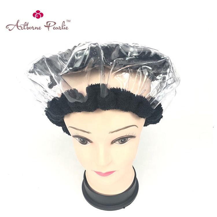 pearlie gel bead luxury shower cap