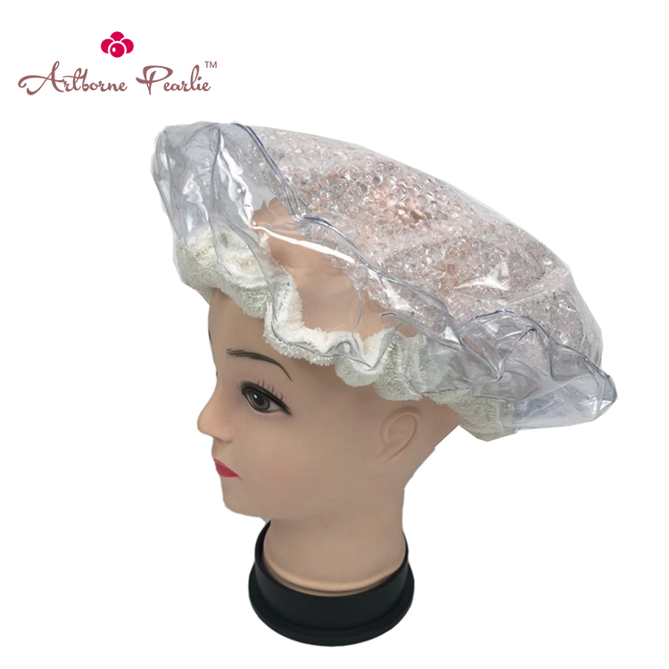 Artborne heat microwave hair conditioning cap suppliers for hair-1