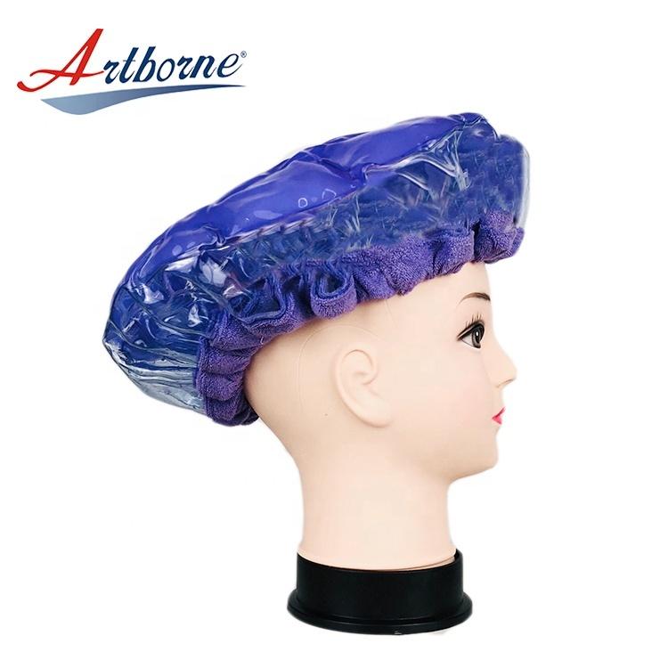 click Instant heat conditioning hair care mask cap bonnet