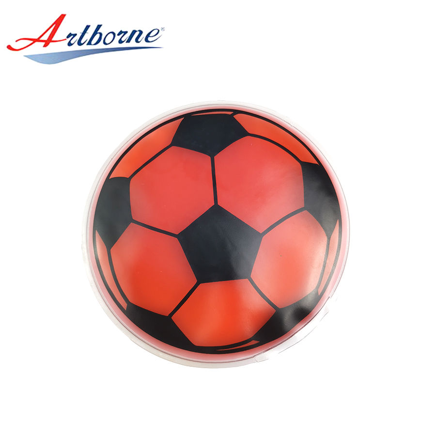 Round Reusable Hand Warmer Hot Cold Pad Round Football Shaped Custom Gel Ice Pack for Medical Devices and Health Care hcp83-F