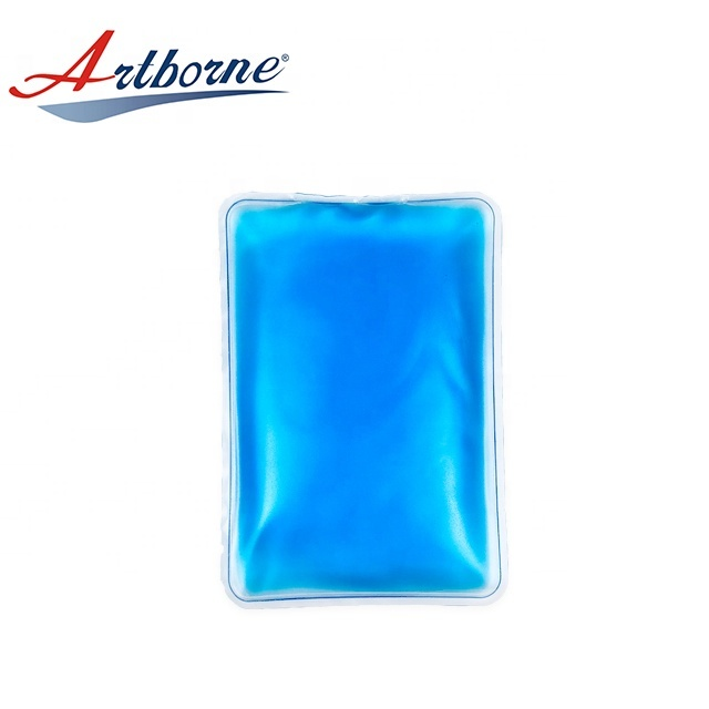 Wholesale Rectangle Reusable Hand Warmer Hot Cold Pad Round Shaped Custom Gel Ice Pack for Medical Devices and Health Care  hcp06