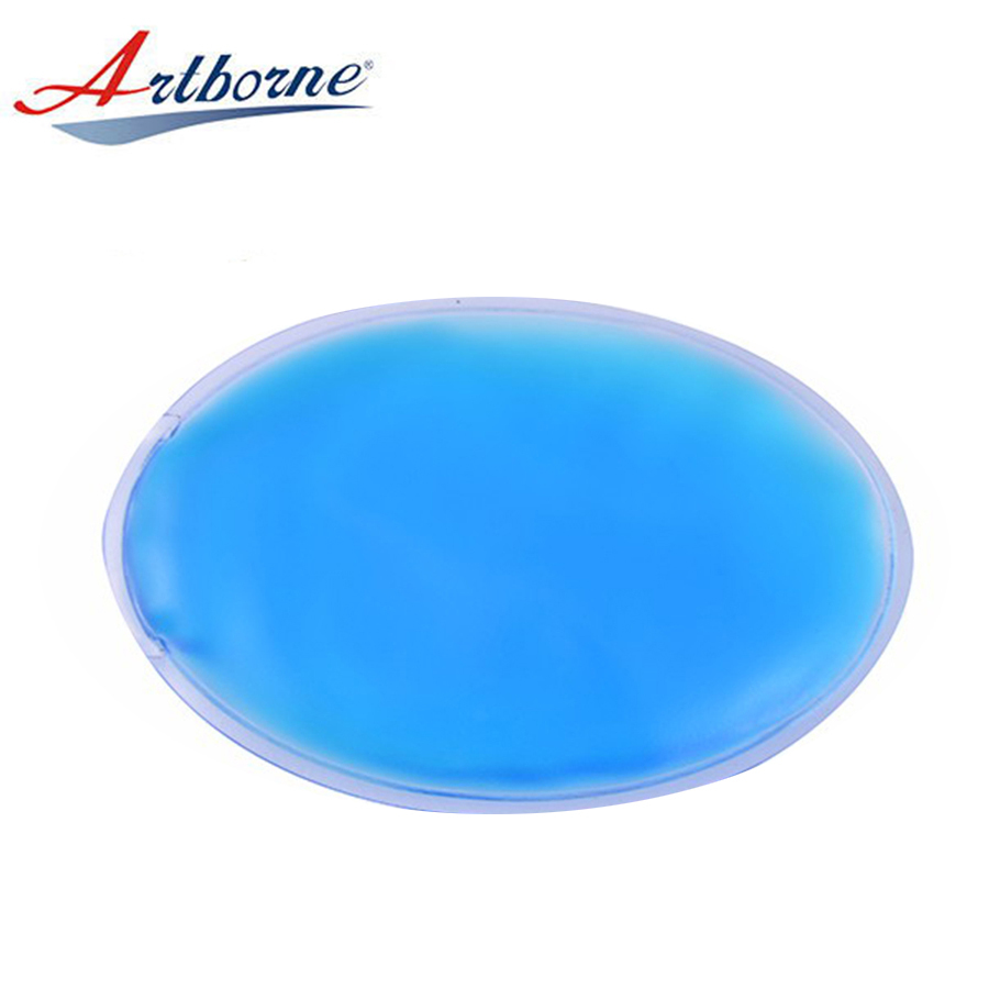 Physical Therapy physiotherapy Reusable Wholesale Oval Microwave Shaped Portable Wholesale the best Gel Ice Pack pad hcp14