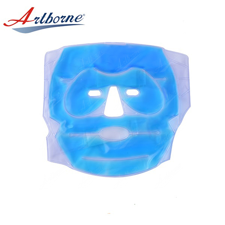 Reusable instant and nontoxic facial gel ice pack heat hot cold pack for physiotherapy and beauty care clinic and Salons hcp38