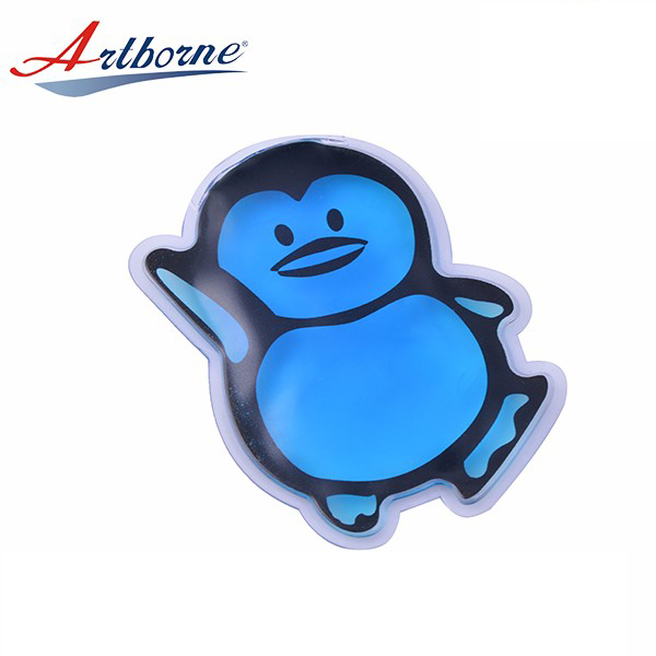 Microwave Cute Thermal Custom Penguin Shape Gel Ice Heat Cold Hand Warmers Warmer Salt Heat Cold Pouch Pocket Pack for Kids Gifts and Hand Warmer hcp87