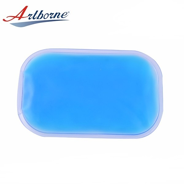 Wholesale Rectangle Reusable Hand Warmer Hot Cold Pad Rectangle Shaped Custom Gel Ice Pack for Medical Devices and Health Care  HCP92
