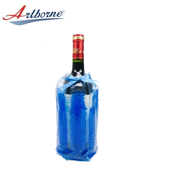 Portable Reusable Cool & Hot Pack for Wine Chiller Bag Ice Gel Bead Pad Take Wine to Go or Outdoors Keep Wine Cool