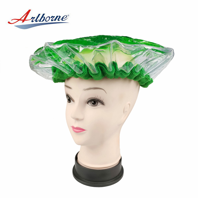Artborne heated hot head microwavable deep conditioning heat cap suppliers for home-1