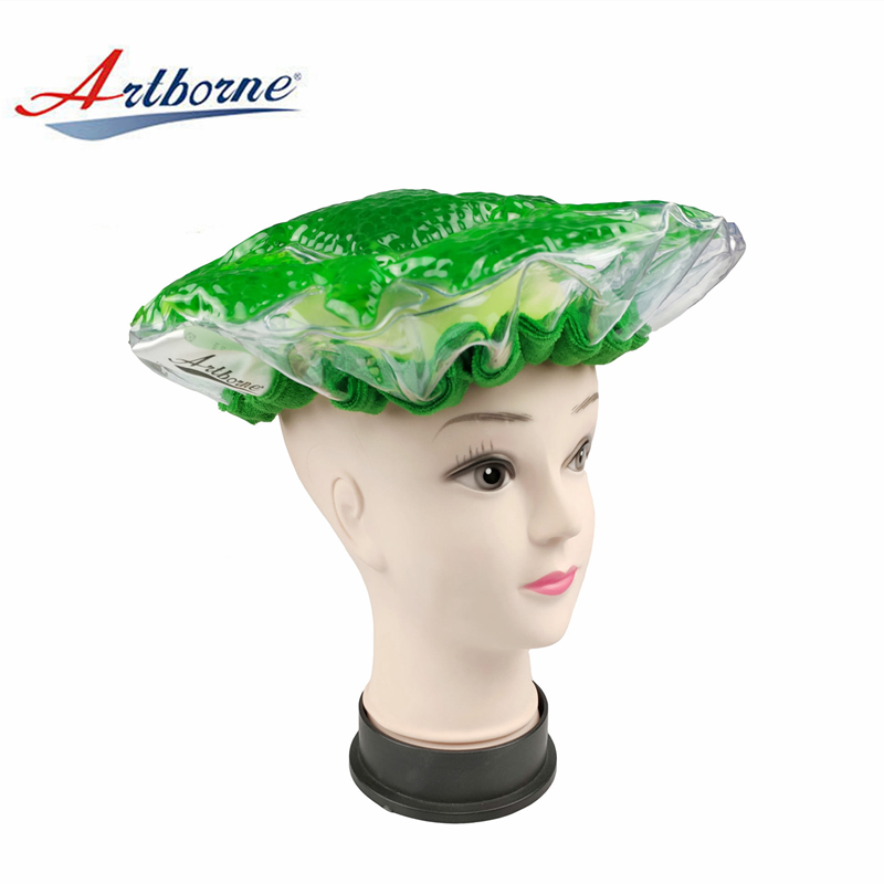Artborne heated hot head microwavable deep conditioning heat cap suppliers for home-2