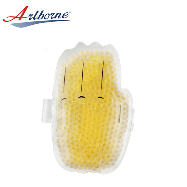 Customized Palm Shape Heat Cold Pack for Hand Warmer Reusable Hot and Cold Therapy Gel Bead Ice Gel Pack for Gift
