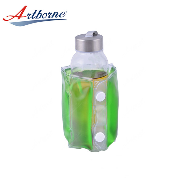 Reusable Hot Cold Bag Gel Ice Wine Pack Bottle Cooler Freezer Pack