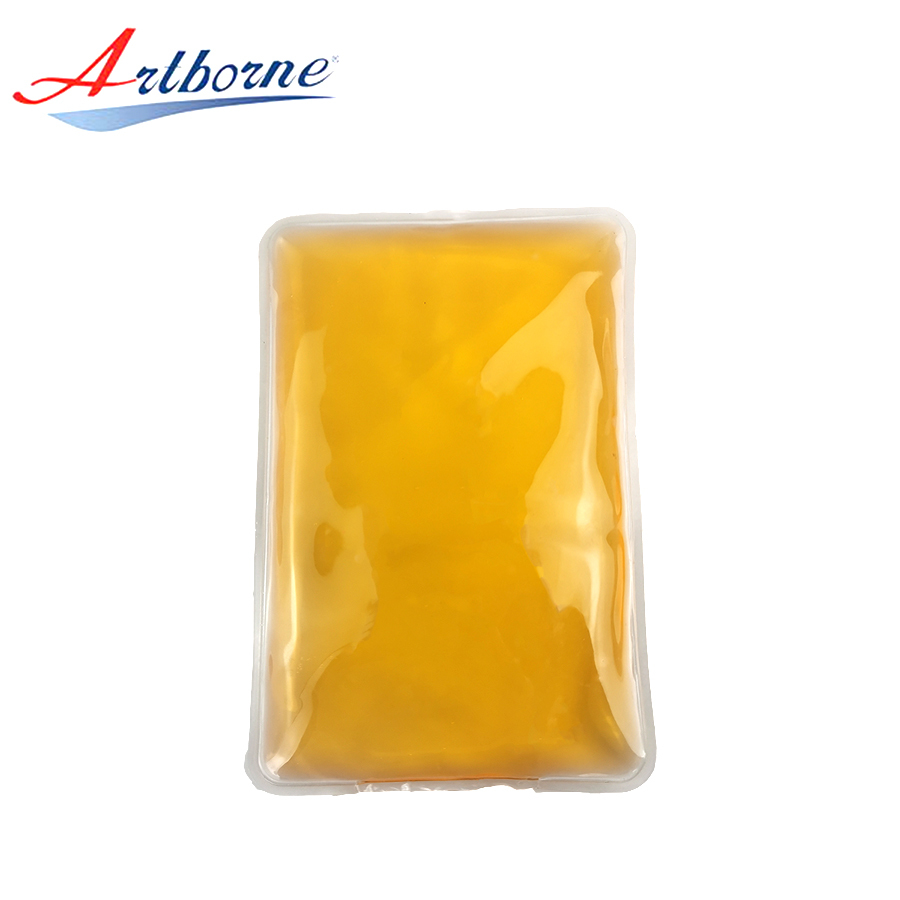 Wholesale Rectangle Reusable Hand Warmer Hot Cold Pad rectangle Shaped Custom Gel Ice Pack for Medical Devices and Health Care hcp06