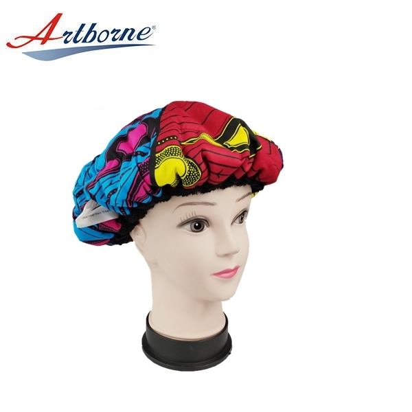 Home Use Deep Repair Conditioning Microwavable Hair Care Treatment Flaxseed Heat Cap Bonnet Hat