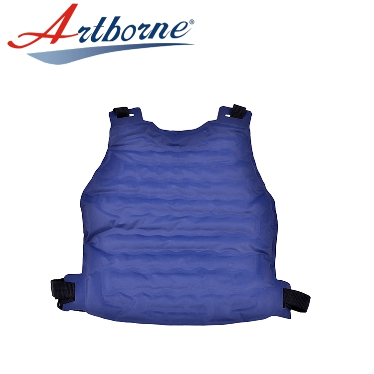 industrial refrigeration Ice body cooling cool working protect from heat cold gel vest jacket with ice gel cool cold heat pack PHP53