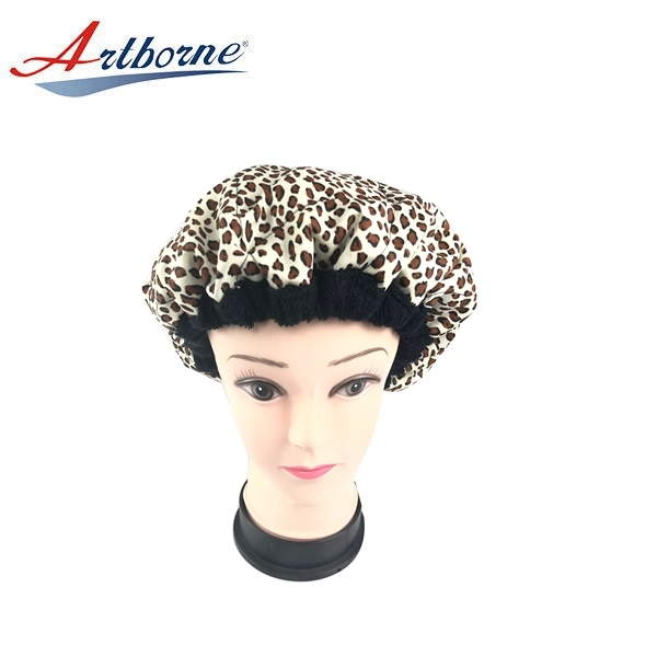 Natural flaxseed linseed microwavable heat Thermal condition steaming hair care mask cap bonnet