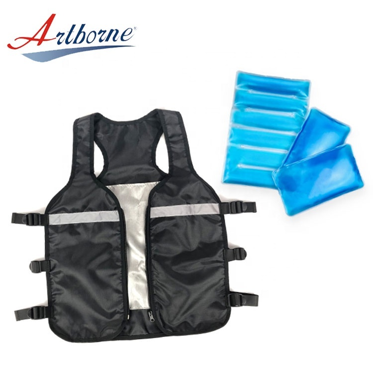 circulation pva free sample dry motorcycle ski water thin child ice pack safety cooling vest   VOGP-L