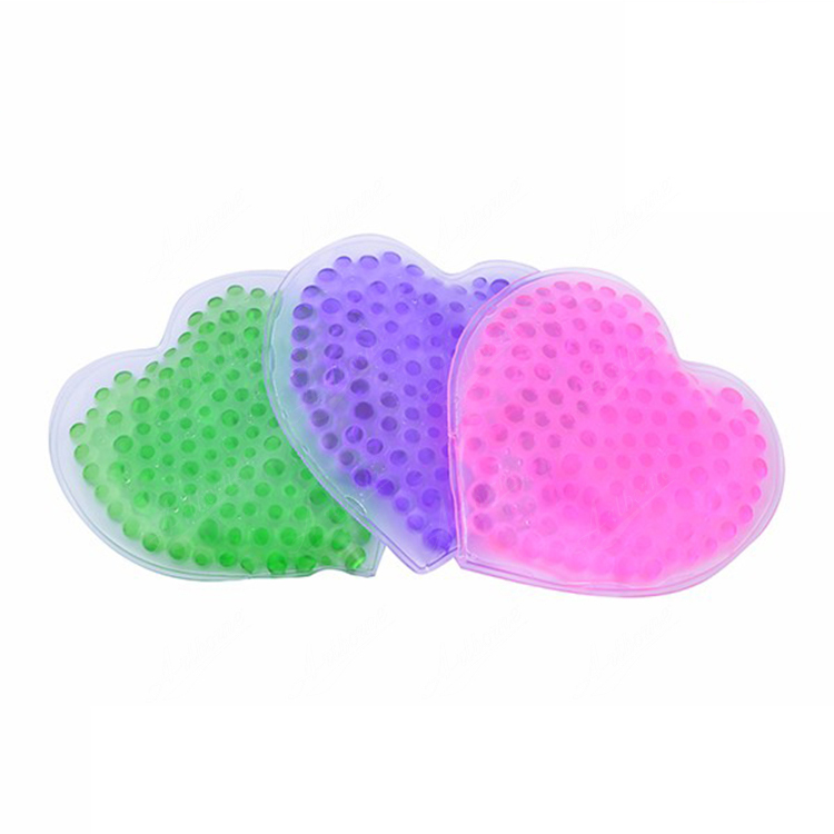 Non-Toxic Soft Gel Bead Massage Ice Therapy Hot and Cold Gel Bead Ice Pack Freezable Microwavable Cold Wrap Cold Compress