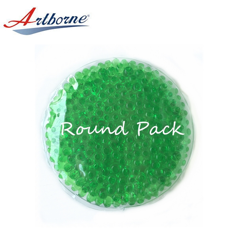 Microwave football gel beads cooling cold hot heat heating pack pocket packs pad for care health and use as hand warmers