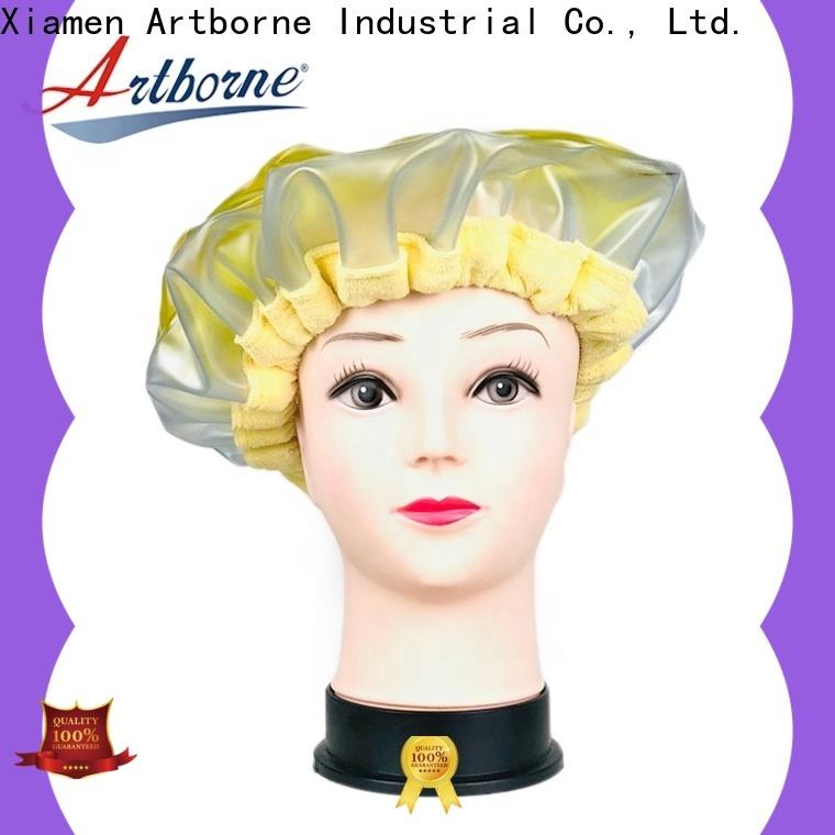 Artborne steam best conditioning heat cap factory for hair