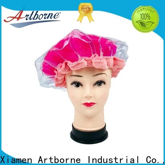Artborne wholesale dry hair cap manufacturers for hair