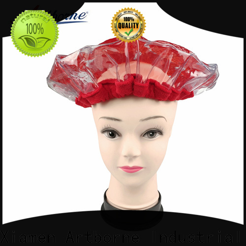 Artborne home microwave hair conditioning cap company for lady