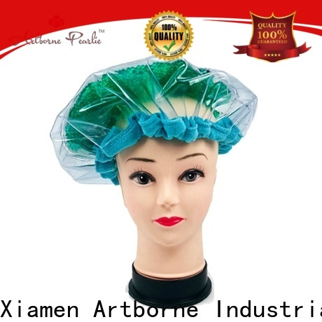 Artborne high-quality microwavable deep conditioning heat cap factory for lady
