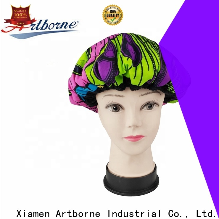 Artborne curly heat cap for deep conditioning suppliers for lady