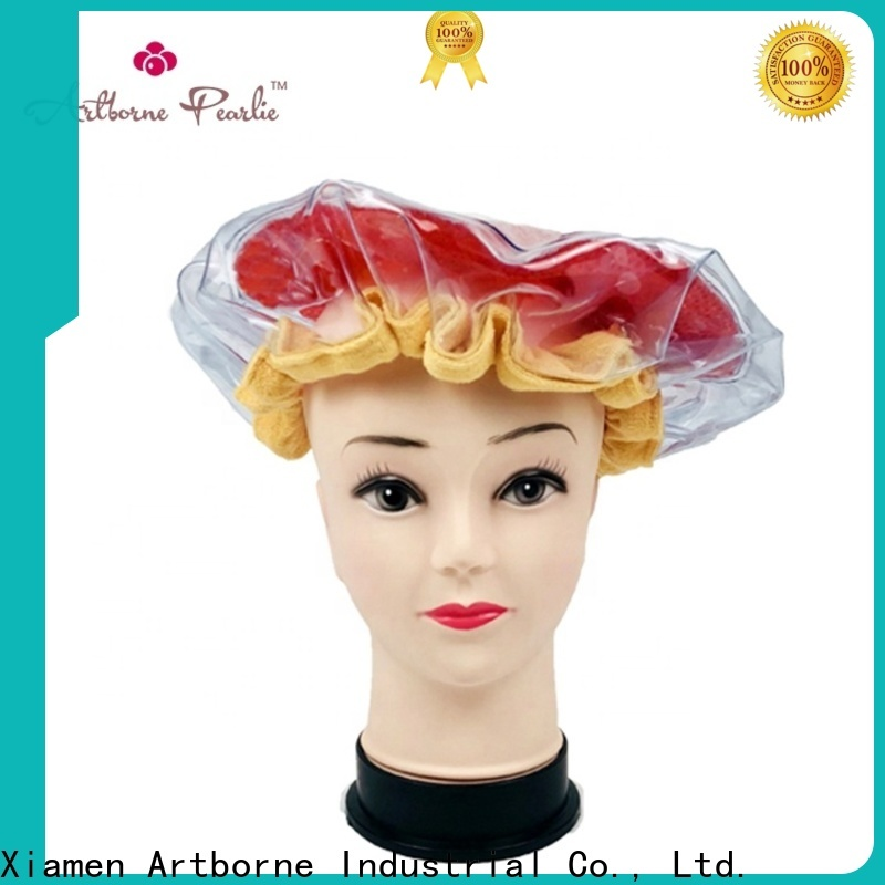 Artborne best heating cap for hair conditioning factory for women