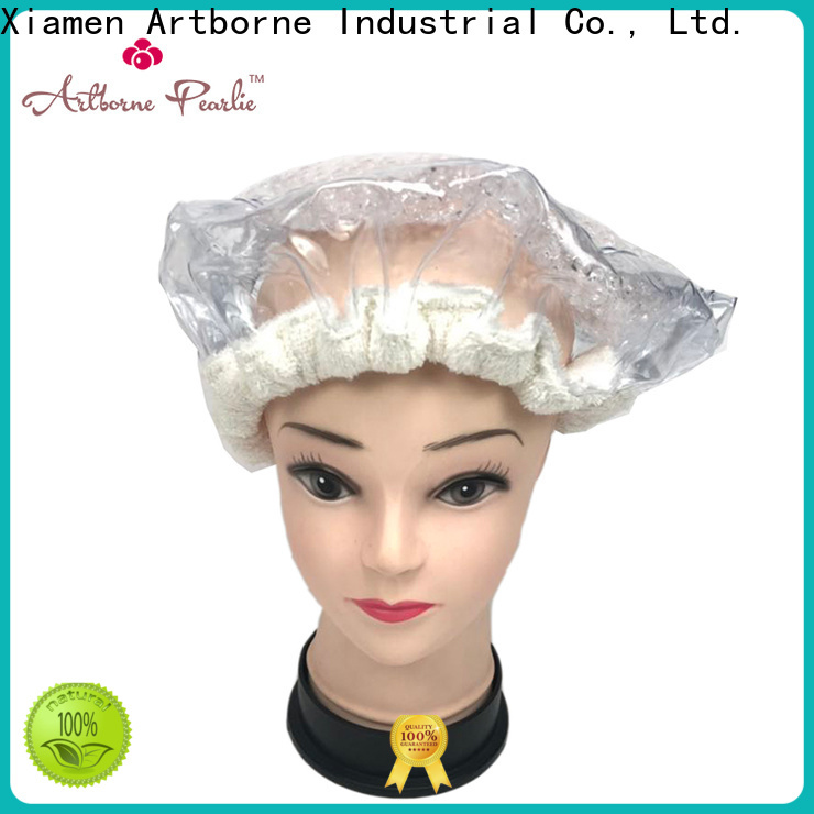 Artborne high-quality microwavable hair bonnet for business for lady