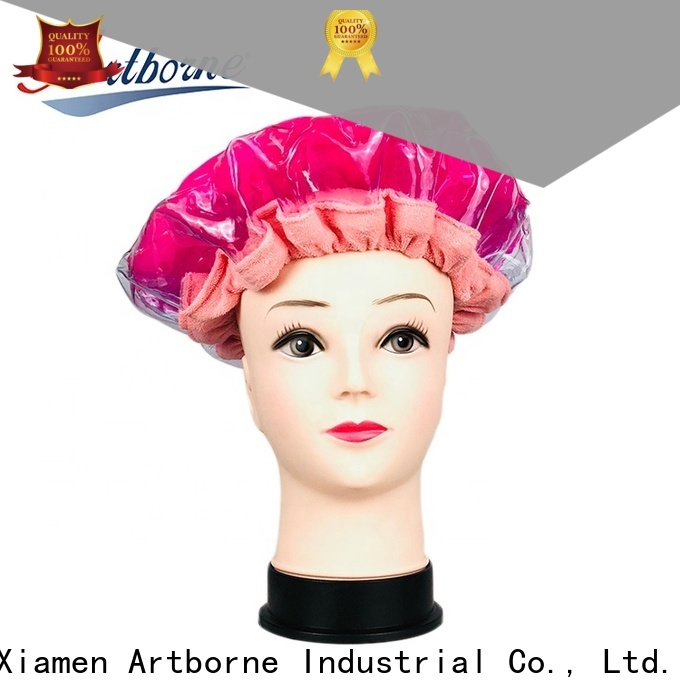 Artborne wholesale hair mask cap supply for lady