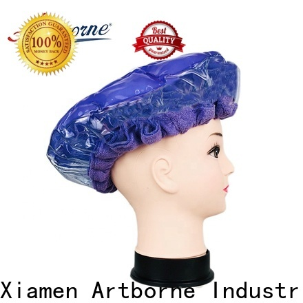 Artborne cordless thermal hair cap for business for lady