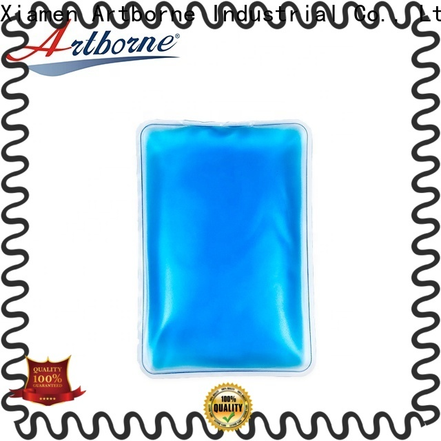 Artborne custom reusable gel ice packs suppliers for pain