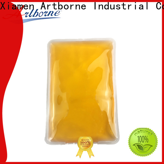 Artborne top gel bead ice pack for business for face