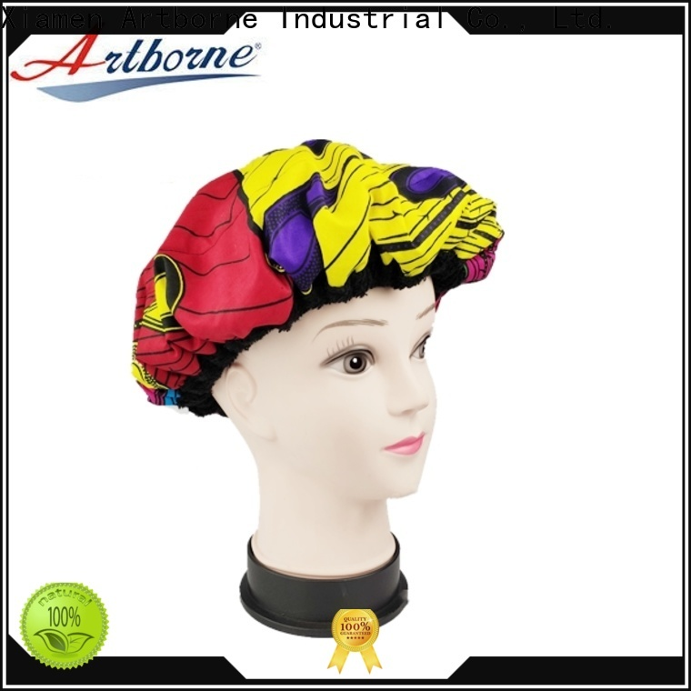 Artborne hair shower cap for women factory for lady