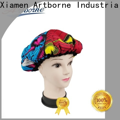 Artborne drying satin cap for curly hair suppliers for women