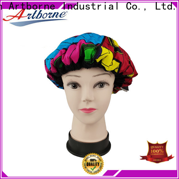 Artborne top hot head thermal conditioning cap factory for hair