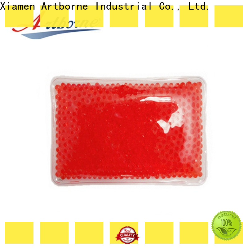 Artborne body soft gel ice pack factory for back pain