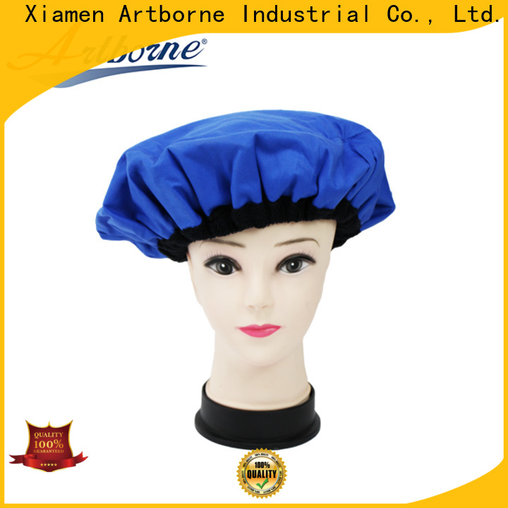 custom hair cap for shower conditioning for business for lady