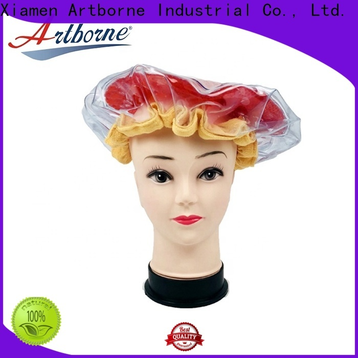 Artborne New microwave heat cap for hair manufacturers for home