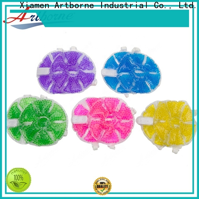 Artborne breast breastfeeding gel pads reusable manufacturers for breast pain