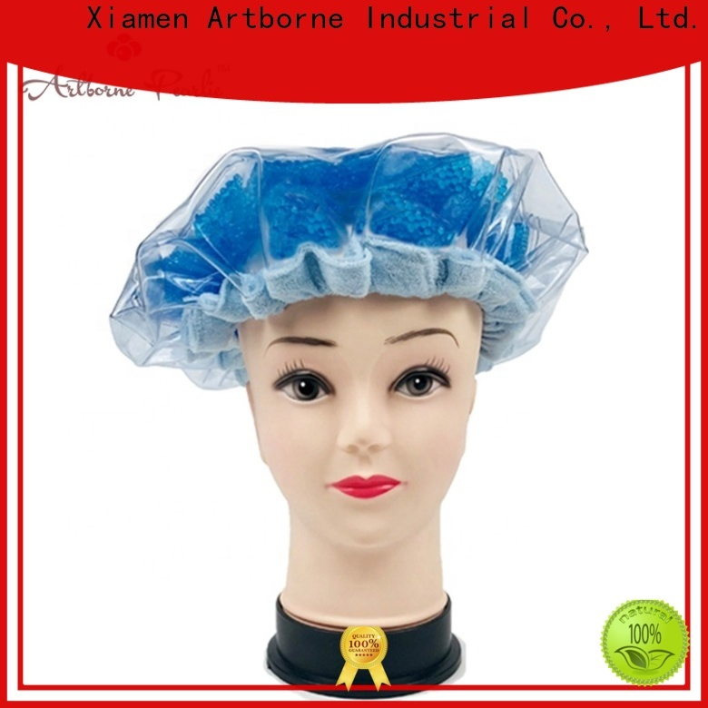 Artborne bead microwave shower cap for business for lady