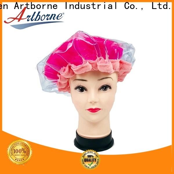 Artborne reusable dry hair cap suppliers for hair
