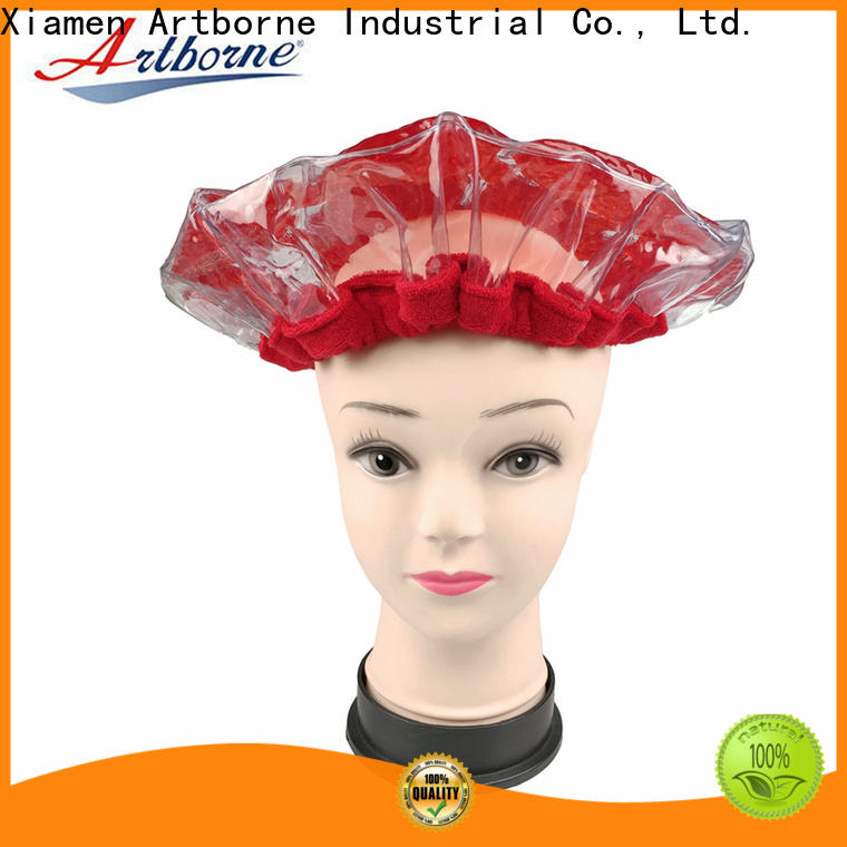 latest heating cap for hair conditioning hair supply for home